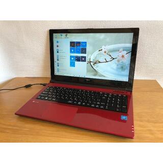 エヌイーシー(NEC)の高速 NEC ノートパソコン Office 美品(ノートPC)
