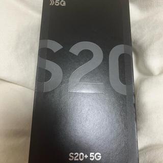 Galaxy - Galaxy S20+ 5G コスミックグレー 128 GB docomo