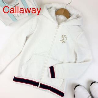 Callaway - Callaway ラウンデル柄ジャカード織りスウェットパーカー 4101
