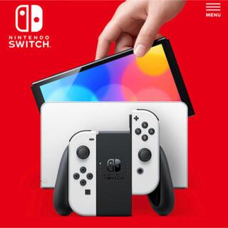 任天堂 - 有機EL Nintendo 新型 Switch 本体 ホワイト 新品 スイッチ