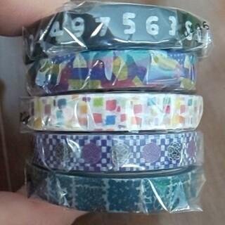 ソウソウ(SOU・SOU)のmt × sou sou  5種類  sale  極細マステ  5巻セット(テープ/マスキングテープ)