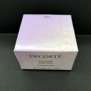 COSME DECORTE - コスメデコルテ フェイスパウダー 108 新品