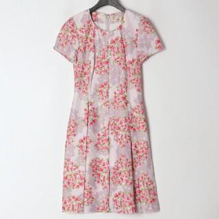 ef-de - エフデ ef-de 64,900円 花柄 ピンク フラワー 日本製 新品