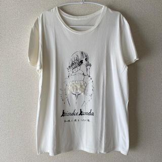 ケイスケカンダ(keisuke kanda)のkeisuke kanda/バレリーナTシャツ(Tシャツ(半袖/袖なし))