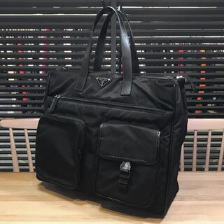 PRADA - 美品 プラダ ナイロン トートバッグ ビジネスバッグ メンズ マルチポケット