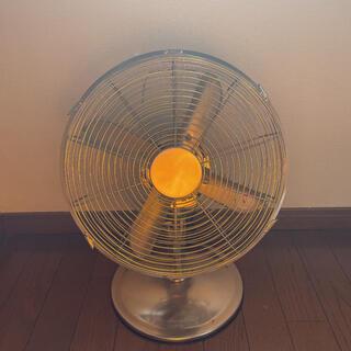 ドウシシャ(ドウシシャ)の扇風機 レトロ ヴィンテージ メタル扇風機 アンティーク インテリア 置物 (扇風機)