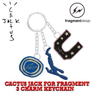 フラグメント(FRAGMENT)の希少‼️ トラヴィス × フラグメント⚡️キーホルダー 新品 (キーホルダー)