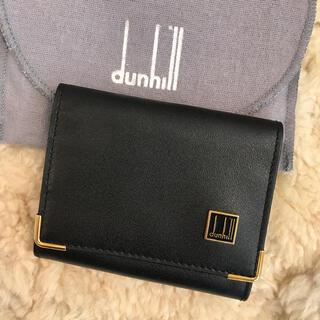 Dunhill - ☆未使用品☆ダンヒル コインケース ホック式 カード入れ