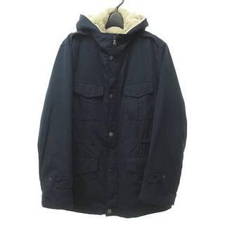 ニジュウサンク(23区)の23区 オンワード樫山  ミリタリー ジャケット ライナー  紺 46 L位 (ミリタリージャケット)