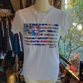 ポロラルフローレン(POLO RALPH LAUREN)のポロラルフローレン 半袖パチワクTシャツ XS 新品(タグ付き)(Tシャツ(半袖/袖なし))