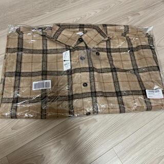 ウィゴー(WEGO)の【新品/タグ付】ウィゴー wego チェックCPOジャケットサイズL(シャツ)