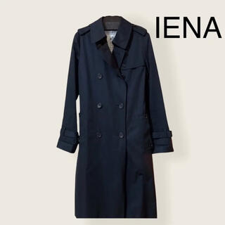 IENA SLOBE - SLOBE IENA トレンチコート ネイビー 36