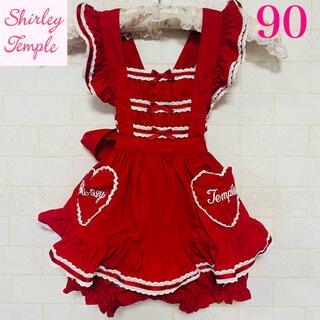Shirley Temple - シャーリーテンプル ドレス ロンパース 90
