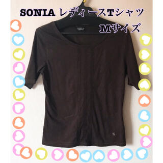 ソニア レディース Tシャツ Mサイズ 半袖 カジュアル ブランド 古着