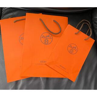 Hermes - エルメス 紙袋 3枚(小2枚 中1枚)セット