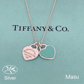 Tiffany & Co. - TIFFANY&Co. ティファニーリターントゥダブルハートネックレス