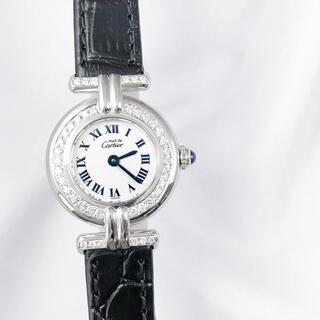 Cartier - 【仕上済】カルティエ コリゼ シルバー ダイヤ レディース 腕時計
