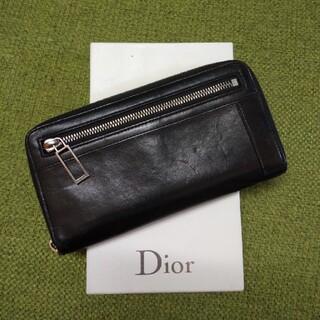 DIOR HOMME - Dior hommeディオールオム レザー長財布 メンズ