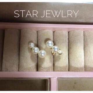 STAR JEWELRY - スタージュエリーガール  パール スマイル ピアス