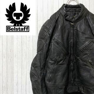 ベルスタッフ(BELSTAFF)のベルスタッフ 英国製 レザージャケット シングルライダースジャケット 44(レザージャケット)