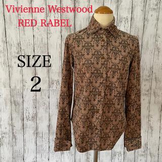Vivienne Westwood - 超美品ヴィヴィアンウエストウッドレッドレーベルコーデュロイ素材シャツ
