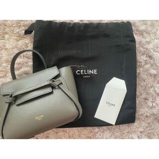 celine - 超美品セリーヌ ベルトバッグ ピコ