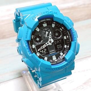G-SHOCK - 美品【CASIO/G-SHOCK】デジアナ メンズ腕時計 GA-100B