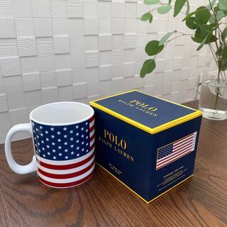 ポロラルフローレン(POLO RALPH LAUREN)のポロ ラルフローレン 星条旗 マグカップ(食器)