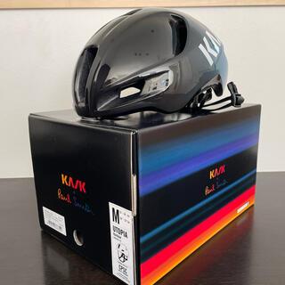 ポールスミス(Paul Smith)のKASK UTOPIA + Paul Smith ロードバイク エアロヘルメット(ウエア)