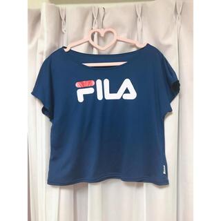 フィラ(FILA)のFILA ビッグロゴ Tシャツ スポーツ(Tシャツ(半袖/袖なし))