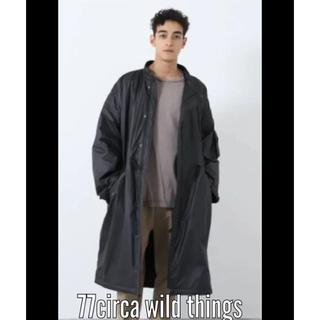 ワイルドシングス(WILDTHINGS)の新品未使用 21aw 77circa wildthings コート(ダウンジャケット)