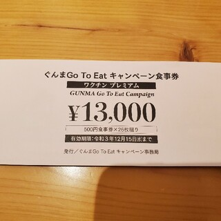 群馬県 GOTOキャンペーン