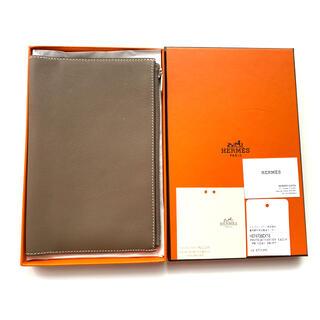 エルメス(Hermes)のエルメス EAジップ PMサイズ ファスナー付き ノートカバー 手帳カバー(手帳)