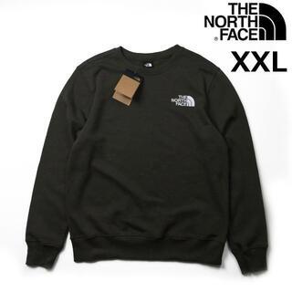 THE NORTH FACE - ノースフェイス トレーナー スウェット 裏起毛(XXL)緑 カーキ 181130
