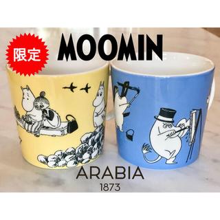 ARABIA - 【フィンランド限定】K-Citymarket 50周年記念ムーミン限定マグカップ