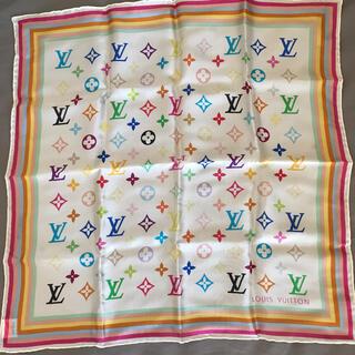 LOUIS VUITTON - Louis Vuitton シルクスカーフ
