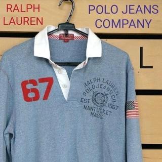 ラルフローレン(Ralph Lauren)のRALPH LAUREN POLO JEANS COMPANY ラガーシャツ L(ラグビー)