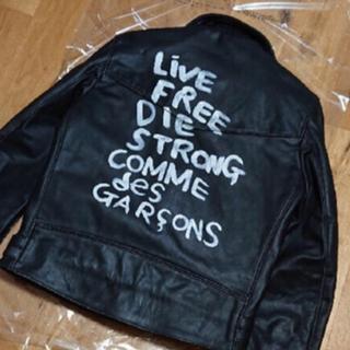 COMME des GARCONS - 希少 COMME des GARCONS ルイスレザー ライトニング 40