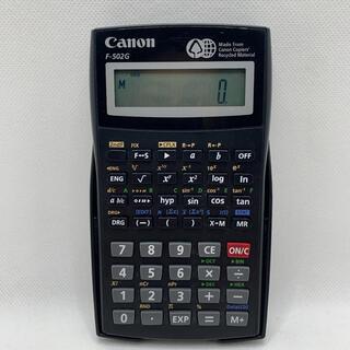 Canon - Canon キャノン 関数電卓 F-502G