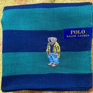 ポロラルフローレン(POLO RALPH LAUREN)のポロラルフローレン ハンカチ ベア刺繍ng(ハンカチ/ポケットチーフ)
