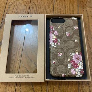 コーチ(COACH)のCOACH シグネチャー花柄 iPhone 7plus 8plus用(iPhoneケース)