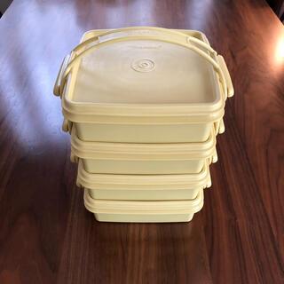 Tupperware タッパーウェア 4段ランチBOX  カルテット