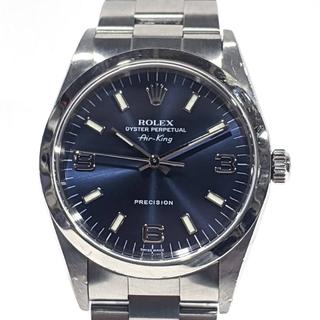 ROLEX - ロレックス オイスターパーペチュアル  エアキング A番 腕時計 14000