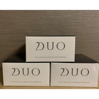 DUOクレンジングバーム ブラックリペア 3箱セット