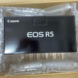 Canon - didi様専用 新品未開封 EOS R5 ボディ