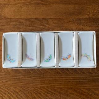 白山陶器 - 深川製磁 箸置き 5個
