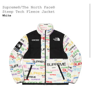 Supreme - Lサイズ 白 Steep Tech Fleece Jacket