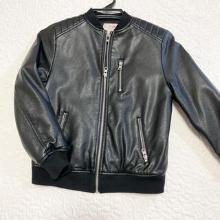 ザラキッズ(ZARA KIDS)のZARA 子供服 ライダース ブルゾン ジャケット アウター128(ジャケット/上着)