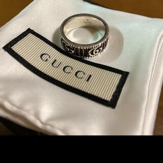 Gucci - GUCCI ダブルG シルバーリング 20号