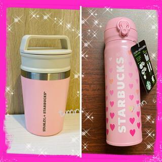 Starbucks Coffee - ラスト❗️スターバックス☆完売☆ピンクドリンクボトルセット